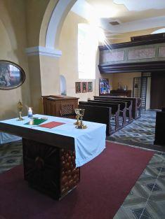 Kostel sv.Martina vMšeckých Žehrovicích