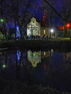 Rozsvícení vánočního stromu - 30. 11. 2019